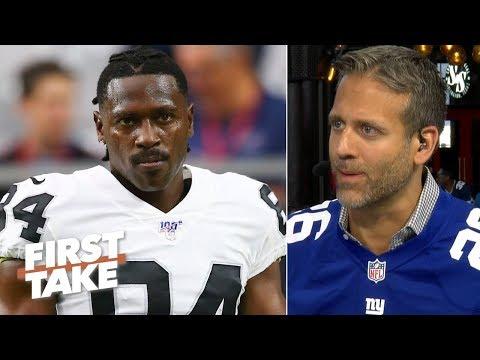 The Raiders have to cut Antonio Brown – Max Kellerman   First Take