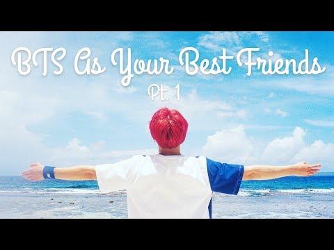 bts best friend imagine