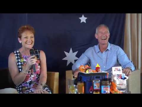 WATCH: Pauline Hanson's Australia Day Livestream Celebration