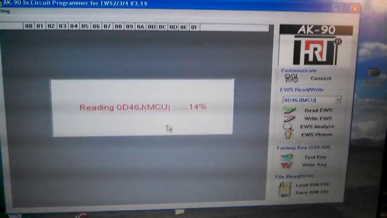 programacion bmw ews 3 con ak90 facil