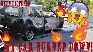My Car Caught On Fire! | Storytime & Pictures