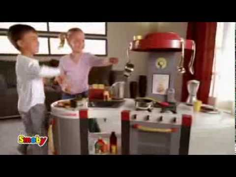 smoby tefal profi küche excellence 20s 16 9 spielküchen von smoby ... - Smoby Küche Tefal