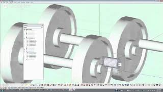 Sketchup Tutorial- Lesson 3 Wooden Toy Steam Loco