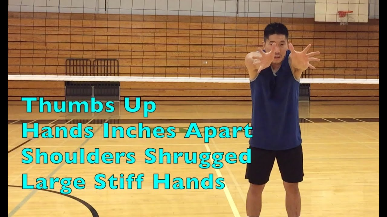 Middle Blocker Hand Arm Positioning How To Block A Volleyball Tutorial Part 2 2 Youtube