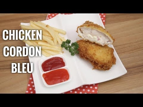 Resep chicken cordon blue yang perfect Anti gagal.. bahan: ayam fillet 250g bisa lebih.. smoke beef .