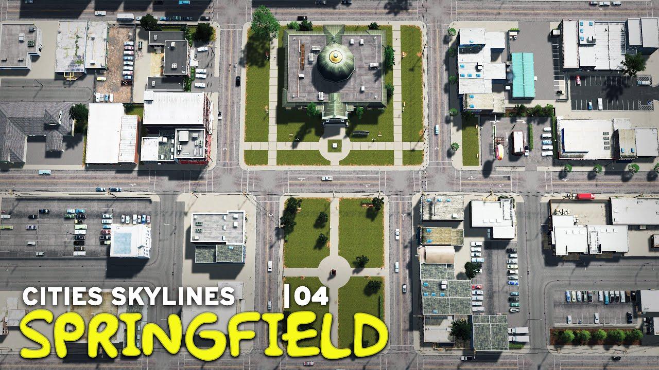 Town Hall | Cities Skylines: Springfield 04