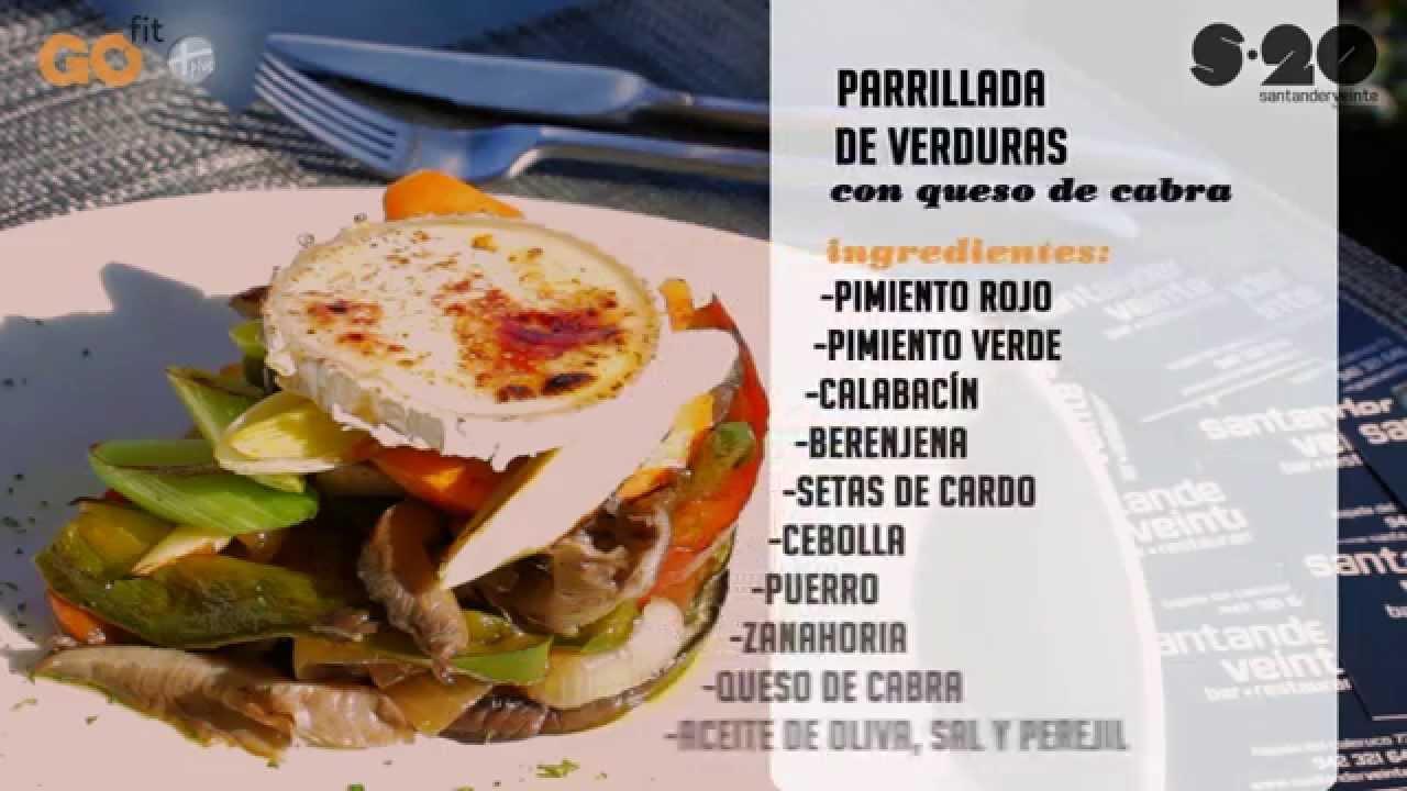 Recetas saludables santanderveinte parrillada de verduras for Parrillada verduras