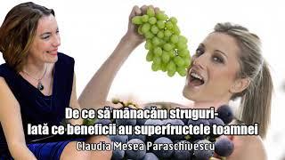 De Ce Sa Manacam Struguri - Iata Ce Beneficii Au Superfructele Toamnei