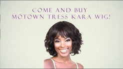 "Motown Tress 100% Brazilian Virgin Remy Human Hair ""Kara"" wig"
