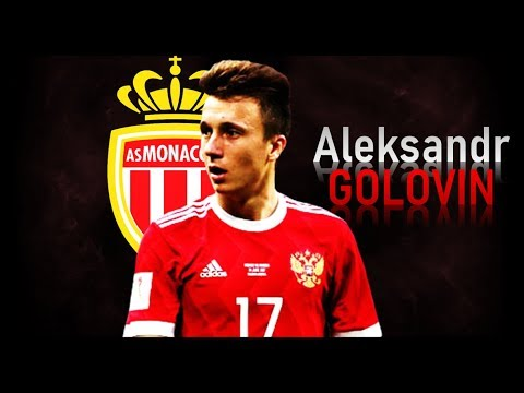 ALEKSANDR GOLOVIN - Welcome To Monaco! Goals & Skills | 2018
