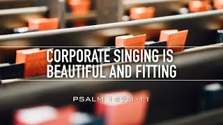 Corporate Singing is Beautiful and Fitting