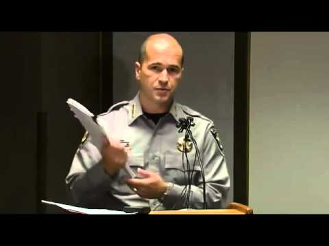 RAW GARBAGE: EL PASO COUNTY SHERIFF Terry Maketa news conference Black Forest fire report | 3-4-14