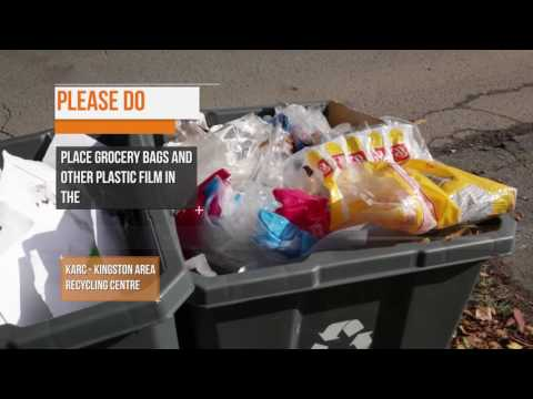 City Of Kingston -  Recycling Collection - Dos & Don'ts