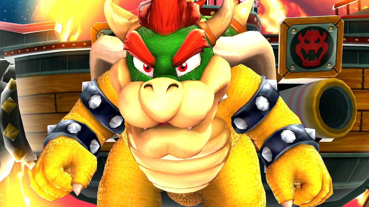 Super Mario Galaxy: Bowser Final Boss Fight and Ending (4K 60fps)