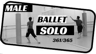 Male Ballet Solo - dancing 365 ballets - Ballet 361