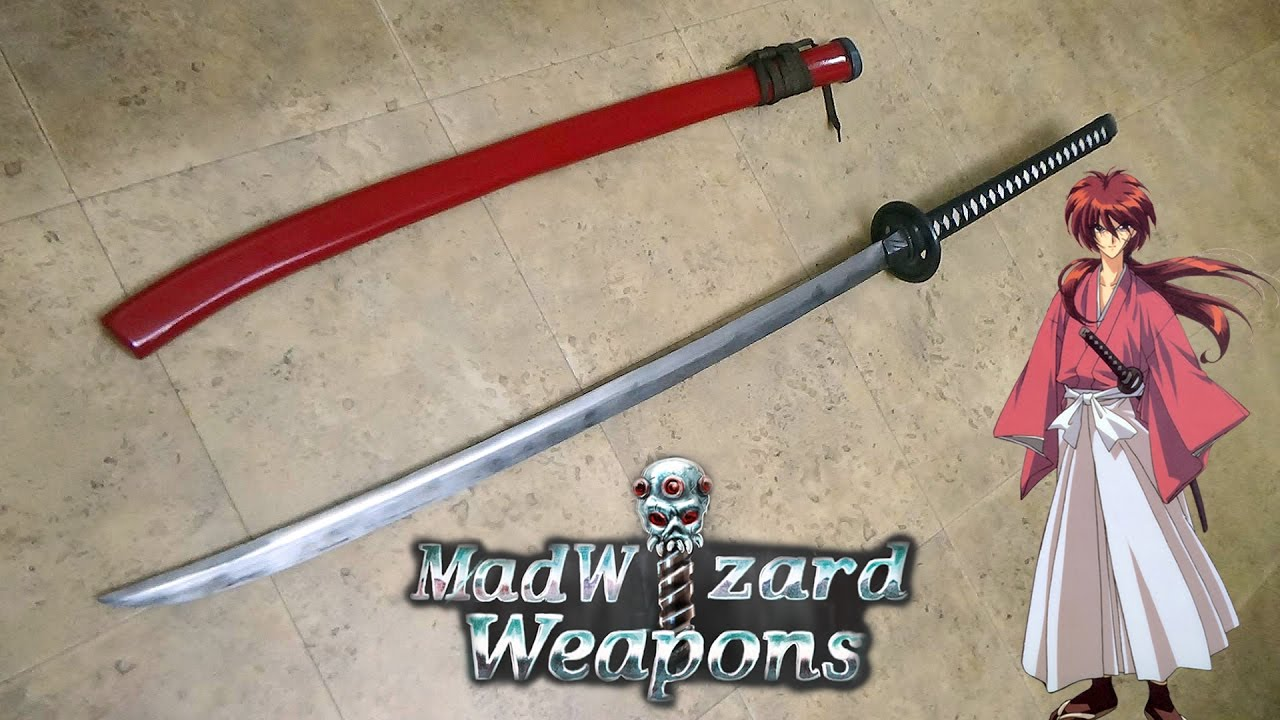 how to make a katana sword