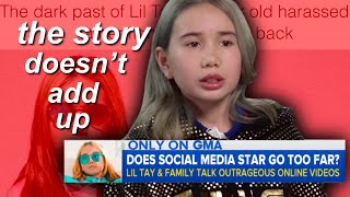 I don't trust the save lil tay movement