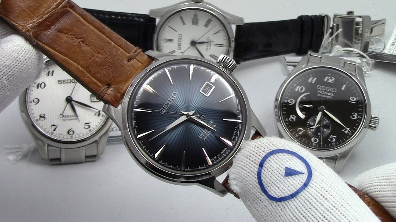 7c9290165 Seiko Presage Watches - Not Just For