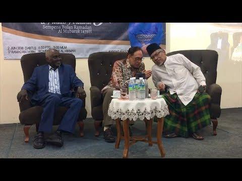 Anwar warns detractors to move on