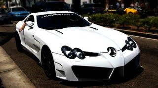 Mansory Renovatio Mercedes-Benz McLaren SLR Loud Engine Acceleration Sound! Luxury4Play  SLR777