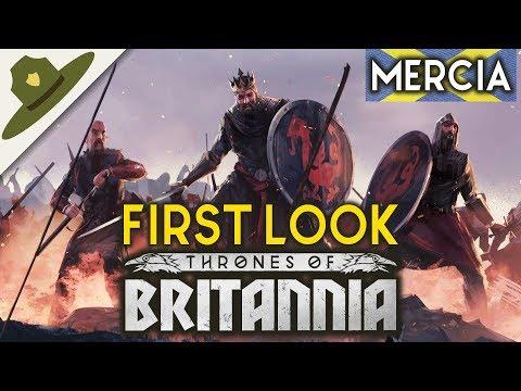 TOTAL WAR Saga ♔ Thrones of Britannia ♔ FIRST LOOK: Mercia