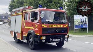 🚨 [Zum VKU] FuStW Polizei + VRW + TLF 16/25 Feuerwehr Triebes