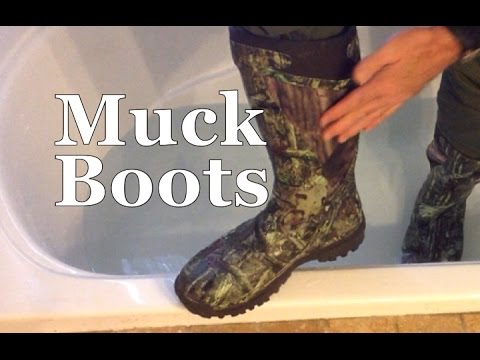 Survival Skills 101 The Muck Boot Pursuit Supreme Winter Hunting Boots