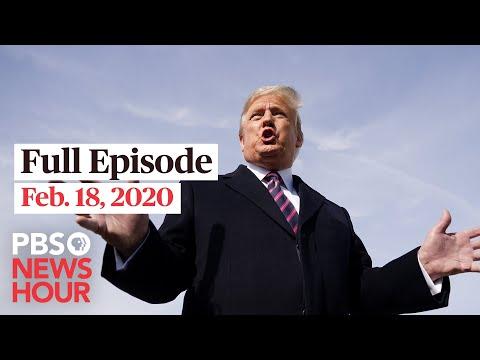PBS NewsHour West live episode, Feb 18, 2020