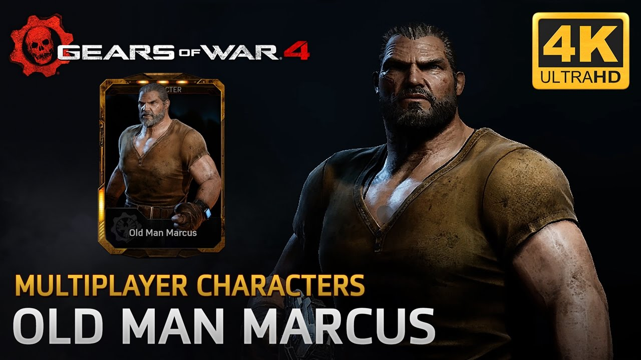 Gears Of War 4 Multiplayer Characters Old Man Marcus
