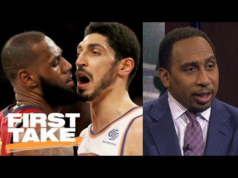 Thumbnail: Stephen A. Smith sides with LeBron James in scuffle with Knicks | First Take | ESPN