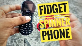 the Fidget Spinner Phone Review