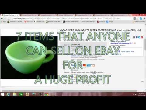 7 PROFITABLE Items that ANYONE can sell on EBAY / HOW I MAKE MONEY ON EBAY