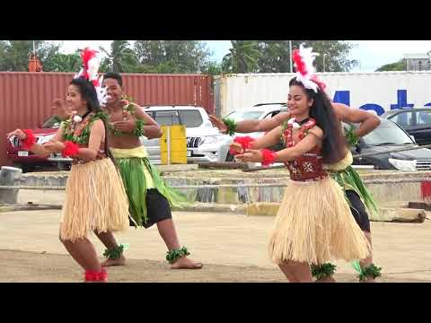 Suliana's Dance Academy - Fakame'ite - MV Tongiaki Launch