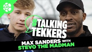 Max Sanders of Brighton & Hove Albion #TalkingTekkers with Stevo The Madman