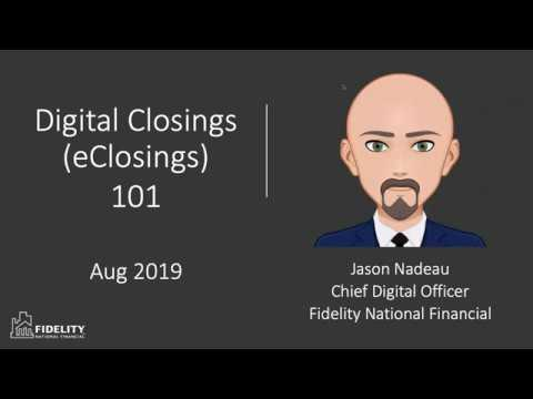 Digital Closings 101