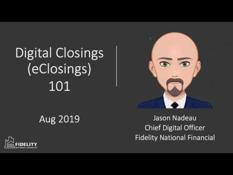 Digital Closings 101