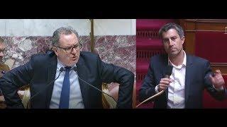 Vif échange entre François Ruffin (FI) et Richard Ferrand (LREM) sur les scrutins publics