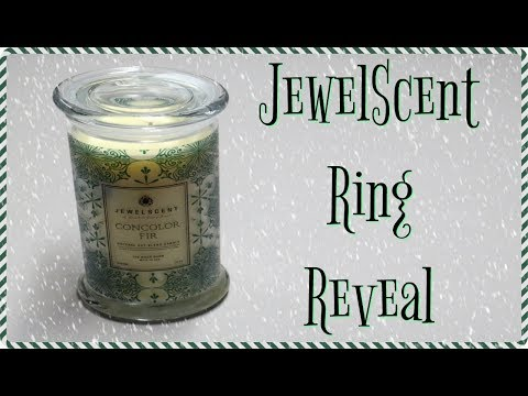 JewelScent Ring Reveal - Concolor Fir Candle!
