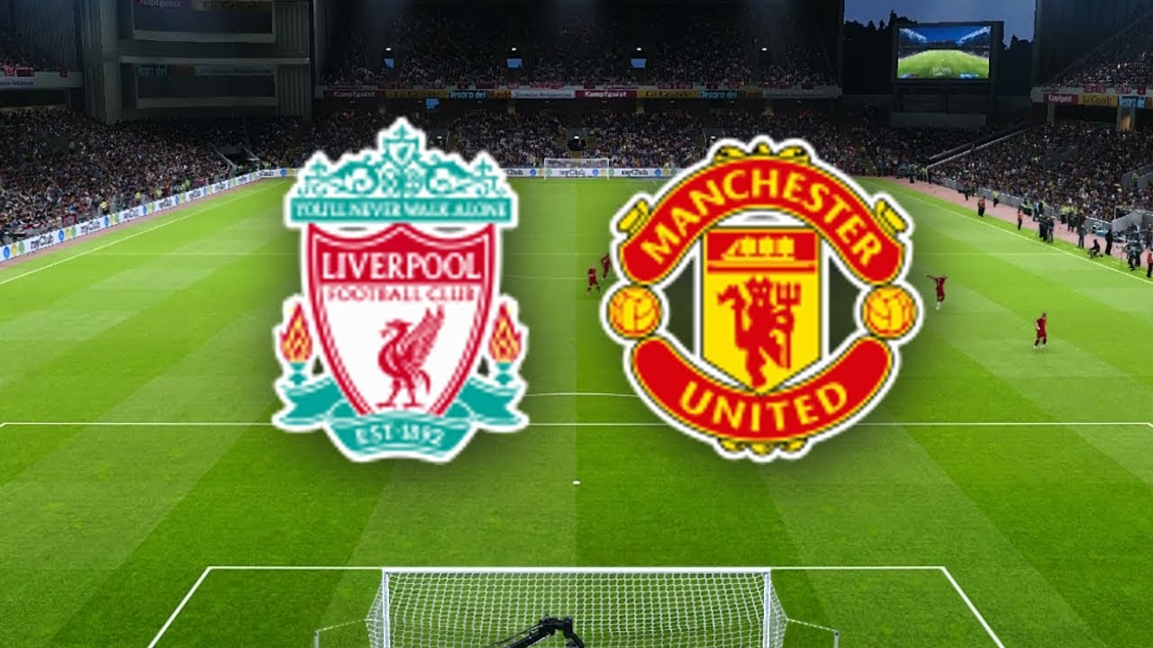 Liverpool Manchester United Soccer Team Match PES 2020 Prediction