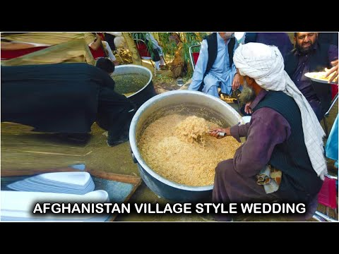 Afghanistan village style wedding | Village life Afghanistan Charbagh Laghman | 2019 HD video