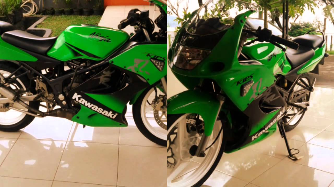 KAWASAKI NINJA 150 RR SE 2011 INDONESIA - YouTube