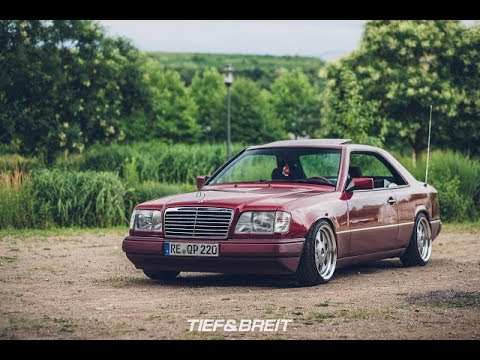 tuning mercedes w124 e220 coupe youtube. Black Bedroom Furniture Sets. Home Design Ideas
