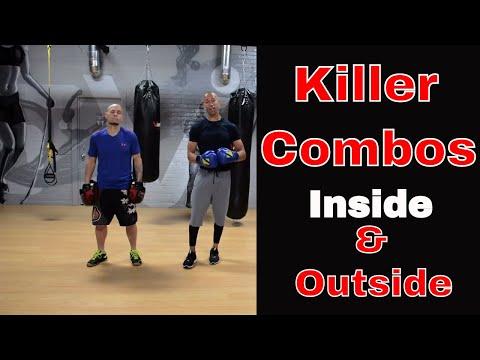 KILLER BOXING COMBOS | Inside And Outside Fighters | JT Van V