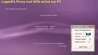 Logan5's Proxy tool : se connecter au PSN sans le 3.42