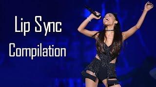Ariana Grande  Lip Sync Compilation