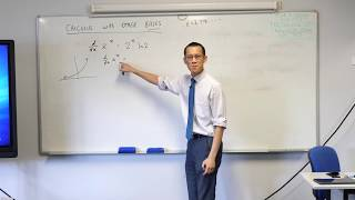 Integrating Exponentials with Other Bases