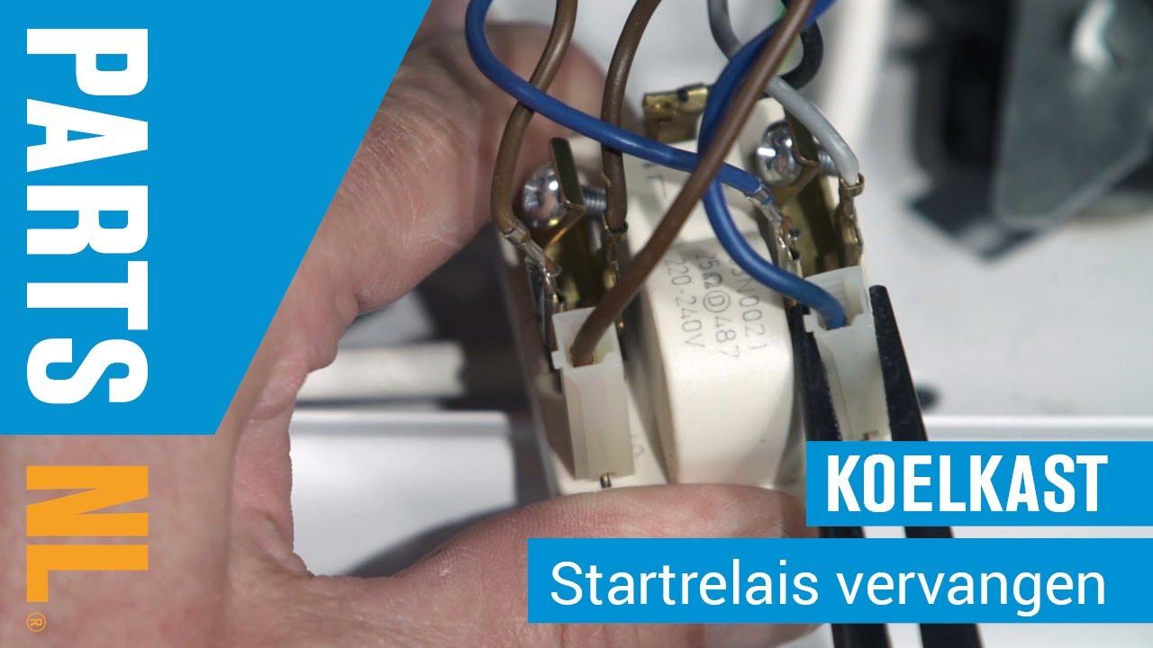 Refrigeration Startrelais Bohr Diagram Of Iron Vervangen Van Koelkast Partsnl Uitleg Youtube