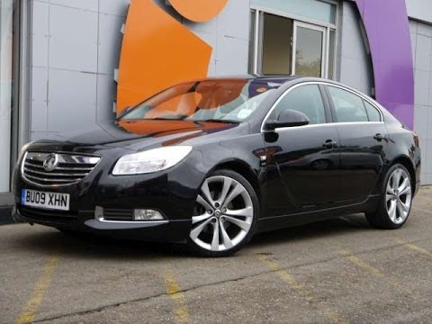 Review Our 2009 Vauxhall Insignia Sri 2 0cdti 5d Black For