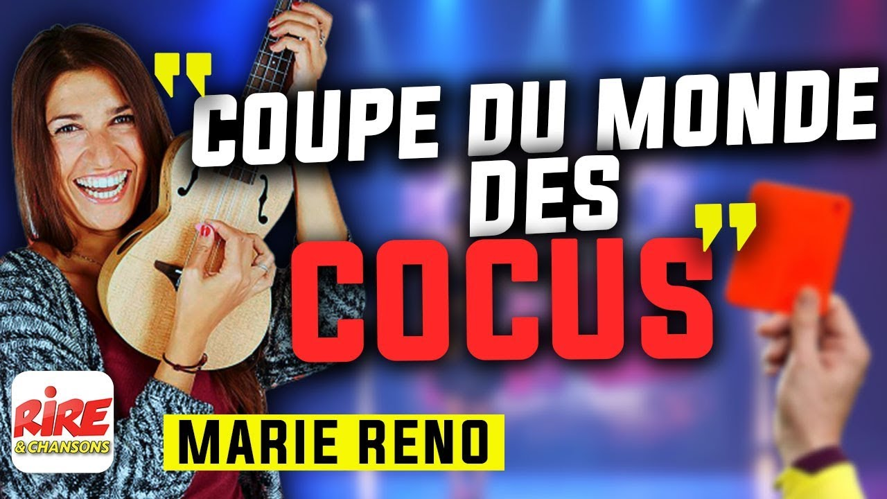 Marie Reno - La coupe du monde des Cocus  (sketch live) -  Rire & Chansons