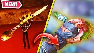 NEW BLOOD OF THE DEAD GOLDEN SPORK KNIFE EASTER EGG GUIDE! (Secret Super Spork Knife)